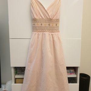 Betsey Johnson smocked dress size S